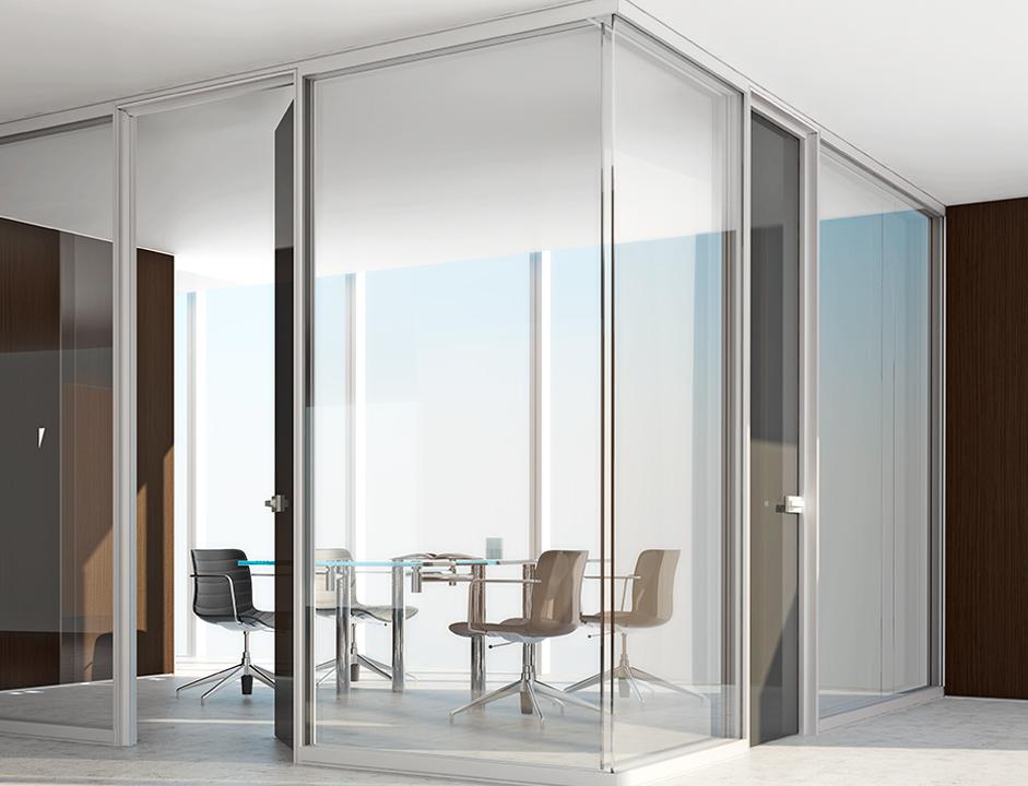 Tabiques de vidrio amazing tecnico en aluminio y vidrio y - Tabique de vidrio ...
