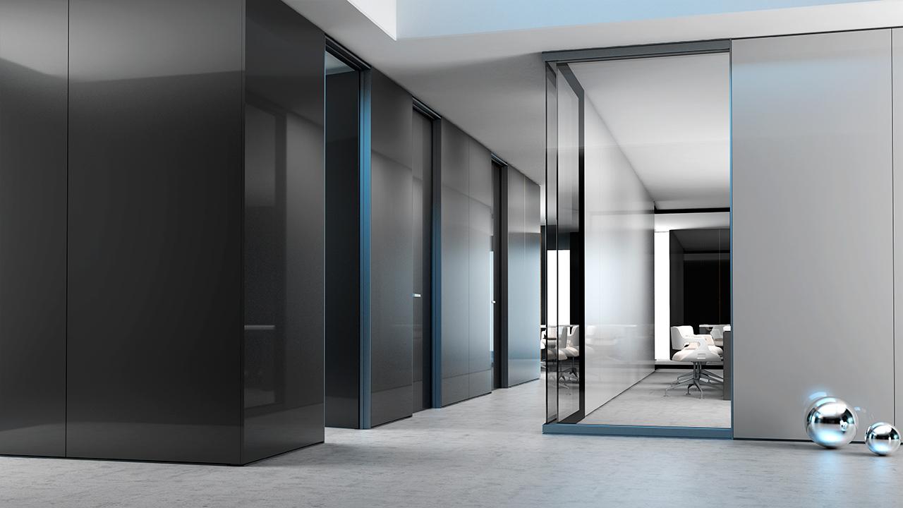 Tabiques separadores de ambientes perfect free latest awesome top reformas integrales madrid - Tabiques de cristal para viviendas ...